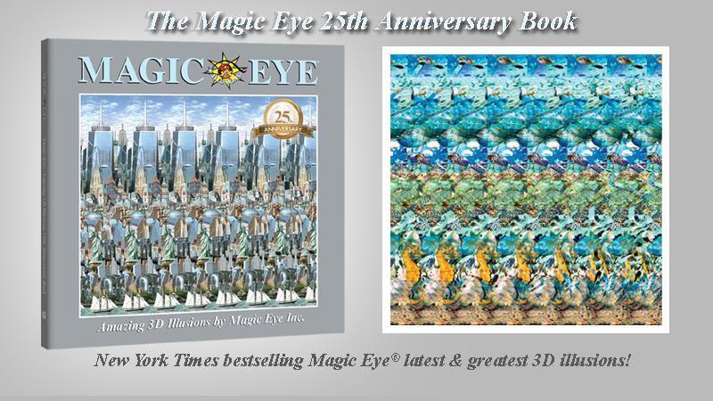Magic Eye 25th Anniversary Book [0]